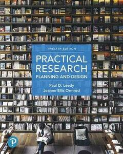 Practical Research: Planning and Design Plus Mylab Education with Pearson Etext -- Access Card Package - Paul D Leedy,Jeanne Ellis Ormrod - cover