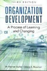 Organization Development (Paperback) - W. Warner Burke,Debra A. Noumair - cover
