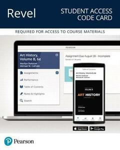 Revel for Art History, Volume B -- Access Card - Marilyn Stokstad,Michael W Cothren - cover