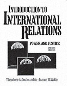 Introduction to International Relations - Theodore A. Couloumbis - cover