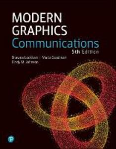Modern Graphics Communication - Shawna E. Lockhart,Marla Goodman,Cindy Johnson - cover