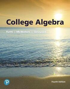 College Algebra Plus Mylab Math with Pearson Etext -- Access Card Package - J S Ratti,Marcus S McWaters,Leslaw Skrzypek - cover