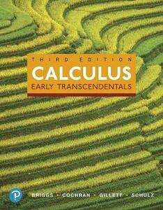 Mylab Math with Pearson Etext -- Standalone Access Card -- For Calculus: Early Transcendentals - William L Briggs,Lyle Cochran,Bernard Gillett - cover