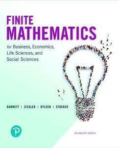 Finite Mathematics for Business, Economics, Life Sciences, and Social Sciences and Mylab Math with Pearson Etext -- Title-Specific Access Card Package - Raymond A Barnett,Michael R Ziegler,Karl E Byleen - cover