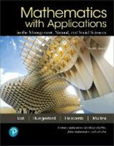 Mathematics with Applications and Mylab Math with Pearson Etext -- Title-Specific Access Card Package - Margaret L Lial,Thomas W Hungerford,John P Holcomb - cover
