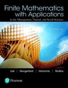 Finite Mathematics with Applications and Mylab Math with Pearson Etext -- Title-Specific Access Card Package - Margaret L Lial,Thomas W Hungerford,John P Holcomb - cover