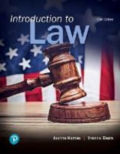 Introduction to Law - Joanne B. Hames,Yvonne Ekern - cover