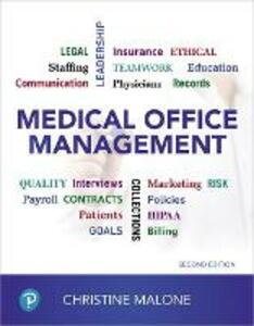 Medical Office Management - Christine Malone - cover