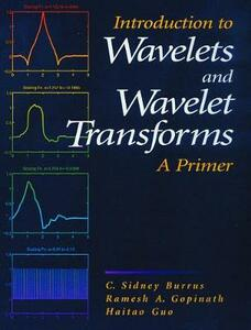 Introduction to Wavelets and Wavelet Transforms: A Primer - C. Sidney Burrus,Ramesh A. Gopinath,Haitao Guo - cover