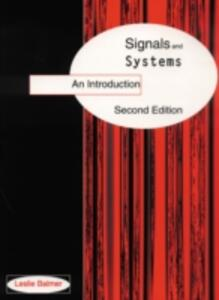 Signals And Systems - L. Balmer - cover