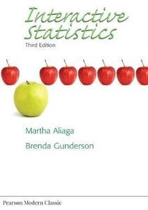 Interactive Statistics - Martha Aliaga,Brenda Gunderson - cover