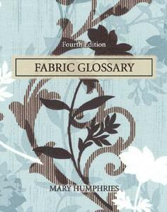 Fabric Glossary - Mary Humphries - cover