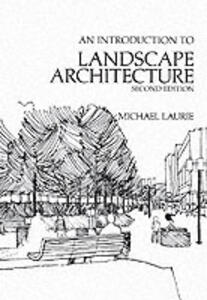 Introductory Landscape Architecture - Laurie - cover