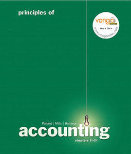 Principles of Accounting, Managerial Chap. 11-21 Value Pack (Includes Principles of Accounting Study Guide and Student CD Package & Myaccountinglab with E-Book Student Access ) - Meg Pollard,Sherry T Mills,Walter T Harrison - cover