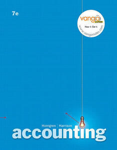 Accounting Ch 12 - 25 Value Pack (Includes Study Guide Chapters 12-25 & CD & Blackboard Student Access Kitccounting) - Charles T Horngren,Walter T Harrison - cover