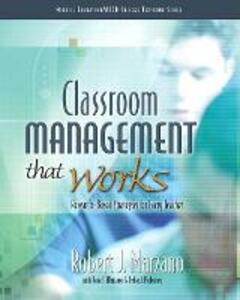Classroom Management That Works: Research-Based Strategies for Every Teacher - Robert J. Marzano - cover