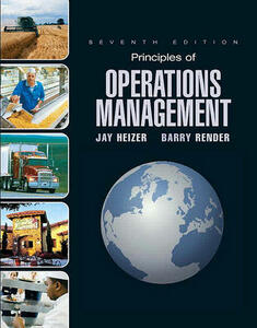 Principles of Operations Management and Student CD & DVD Value Package (Includes POM-Qm for Windows V. 3) - Jay Heizer,Barry Render - cover