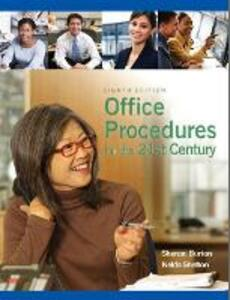 Office Procedures for the 21st Century - Sharon Burton,Nelda Shelton - cover