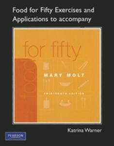 Exercises and Applications Workbook for Food For Fifty - Katrina Warner - cover