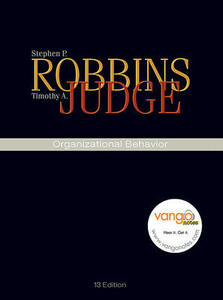 Organizational Behavior Value Package (Includes Self Assessment Library 3.4) - Stephen P Robbins,Timothy A Judge - cover