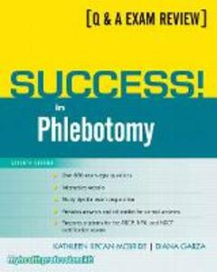Success! in Phlebotomy - Kathleen Becan-McBride,Diana Garza - cover