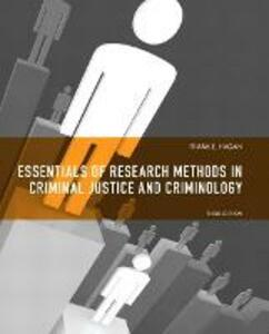 Essentials of Research Methods for Criminal Justice - Frank E. Hagan - cover