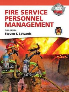 Fire Service Personnel Management with MyFireKit - Steven T. Edwards - cover