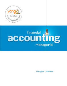 Financial/Managerial Accounting Value Pack (Includes Financial Study Guide and Study Guide CD Package & Myaccountinglab with E-Book Student Access ) - Charles T Horngren,Walter T Harrison - cover