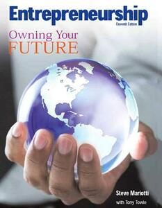 Entrepreneurship: Owning Your Future (High School Textbook) - Steve Mariotti - cover