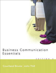 Business Communication Essentials and Peak Performance Grammar and Mechanics 2.0 CD Value Package (Includes Onekey Blackboard, Student Access Kit, Business Communication Essentials) - Courtland L Bovee - cover