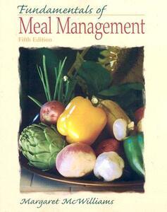 Fundamentals of Meal Management - Margaret McWilliams - cover