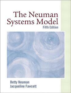 The Neuman Systems Model - Betty Neuman,Jacqueline Fawcett - cover