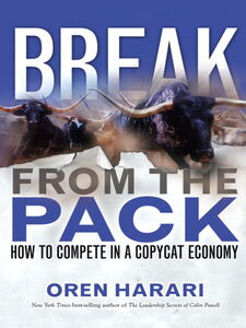 Ebook in inglese Break From the Pack Harari, Oren