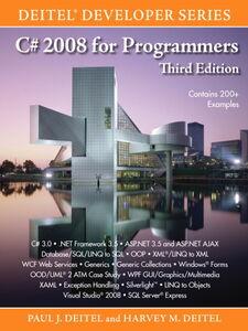 Foto Cover di C# 2008 for Programmers, Ebook inglese di Harvey M. Deitel,Paul Deitel, edito da Pearson Education
