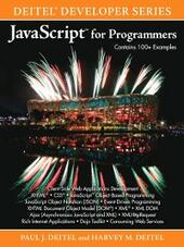 JavaScript™ for Programmers