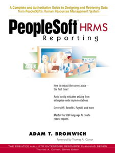Foto Cover di PeopleSoft® HRMS Reporting, Ebook inglese di Adam T. Bromwich, edito da Pearson Education