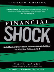 Foto Cover di Financial Shock, Ebook inglese di Mark Zandi, edito da Pearson Education