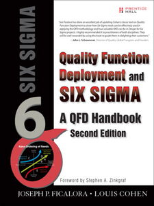 Foto Cover di Quality Function Deployment and Six Sigma, Ebook inglese di Joseph P. Ficalora, edito da Pearson Education