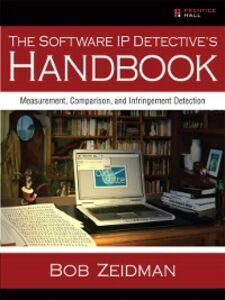 Foto Cover di The Software IP Detective's Handbook, Ebook inglese di Bob Zeidman, edito da Pearson Education