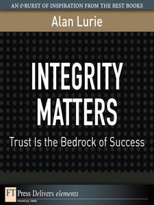 Ebook in inglese Integrity Matters Lurie, Alan