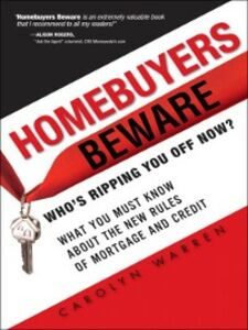 Ebook in inglese Homebuyers Beware Warren, Carolyn