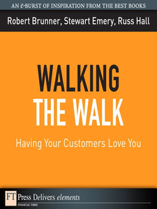 Ebook in inglese Walking the Walk Brunner, Robert , Emery, Stewart , Hall, Russ