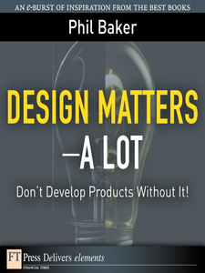 Ebook in inglese Design Matters--A Lot Baker, Phil