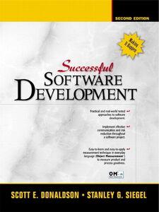 Ebook in inglese Successful Software Development Donaldson, Scott E. , Siegel, Stanley G.