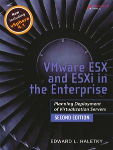 Ebook in inglese VMware ESX and ESXi in the Enterprise Haletky, Edward