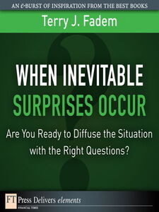 Ebook in inglese When the Inevitable Surprises Occur Fadem, Terry J.