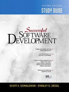 Ebook in inglese Successful Software Development Study Guide Donaldson, Scott E. , Siegel, Stanley G.