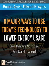 8 Major Ways to Use Today's Technology to Lower Energy Usage (and They Are Not Solar, Wind, and Nuclear)