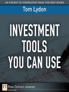 Foto Cover di Investment Tools You Can Use, Ebook inglese di Tom Lydon, edito da Pearson Education