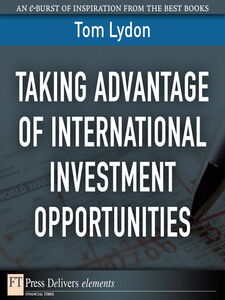 Ebook in inglese Taking Advantage of International Investment Opportunities Lydon, Tom
